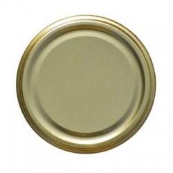 Viečka zaváracie, TO 82, zlaté, 8,2 cm, 10 ks
