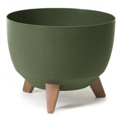 Misa Roma Eco, na nožičkách, zelená, 29 cm