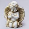 Anjel modliaci, ecru, 16 cm