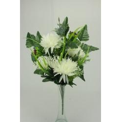 Kytica chryzantéma + doplnky, 50 cm