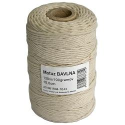 Motúz bavlna, Tube Pack 04, 130 m/190 g