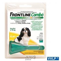 FRONTLINE COMBO, Spot-on DOG S 2-10 kg, 0,67 ml