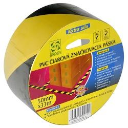 PVC čiarová značkovacia páska KL-PMD 50 mm, L-33 m