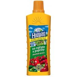 Hoštické hnojivo na rajčiny a papriku, 0,5 L