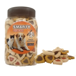 SMARTY SNACK - Srdiečka Soft Mix, 1 ks