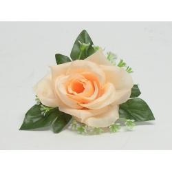 Vencovka ruža s listom, mix farieb, 14 cm