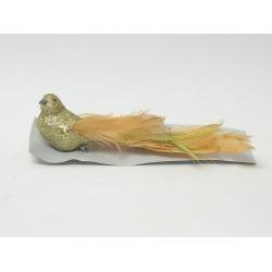 Vtáčik štipec, zlatý, 22 cm