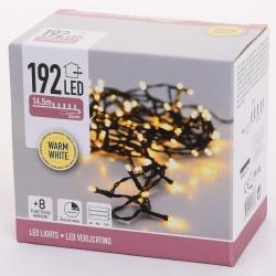 Vianočné svetielka, WARM WHITE, 192 LED