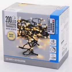 Vianočné svetielka, WARM WHITE, 200 LED