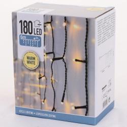 Vianočné svetielka, WARM WHITE, 180 LED