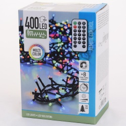Vianočné svetielka, Multi Color, 400 LED