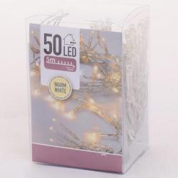 Vianočné svietidlá AXS000660, WARM WHITE, 50 LED