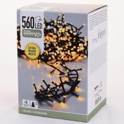 Vianočné svetielka, EXTRA WARM WHITE, 560 LED