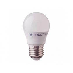 V-TAC PRO SAMSUNG LED žiarovka - E27 G45 5,5W teplá biela