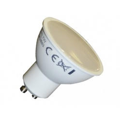 V-TAC LED žiarovka - GU10 7W denná biela