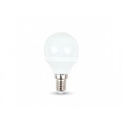 V-TAC LED žiarovka - E14 P45 3W studená biela