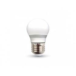 V-TAC LED žiarovka - E27 G45 3W teplá biela