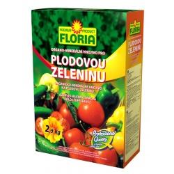 Hnojivo pre plodovú zeleninu - FLORIA, 2,5 kg