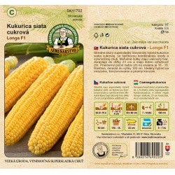 Kukurica siata cukrová, LONGA F1, C, SK11702, 10 g