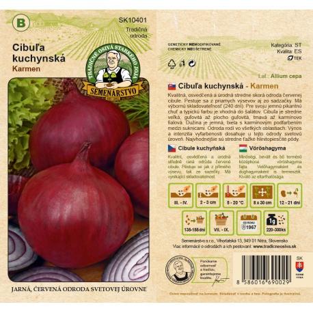 Cibuľa kuchynská, červená, KARMEN, B, SK10401, 3 g