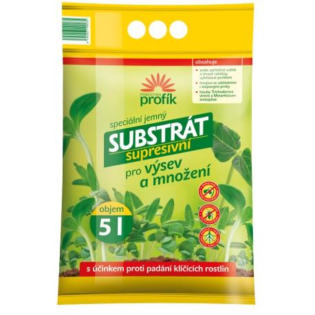 Substrát pre výsev a množenie rastlín - Supresívny, 5 L