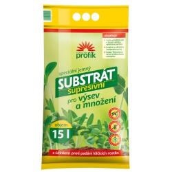 Substrát pre výsev a množenie rastlín - Supresívny, 15 L