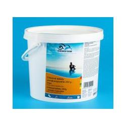 Chlorové tablety, maxi 200 g, pomaly rozpustné, 1 kg