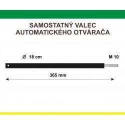 Samostatný piest automatického otvárača