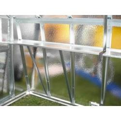 Ľavá bočná polica, rohová, 150 x 45 cm