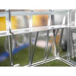 Pravá bočná polica, rohová, 150 x 45 cm