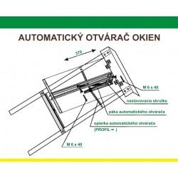 Automatický otvárač okien Hobby