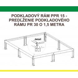 Podkladový rám pre predĺženie H7-W (PPR15) +1,5 m