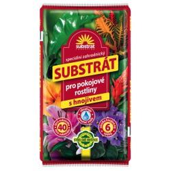 Substrát pre izbové rastliny, 40 L