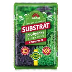 Substrát pre bylinky a zelené korenie, 10 L