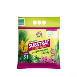 Substrát pre izbové rastliny – Supresívny, 5 L