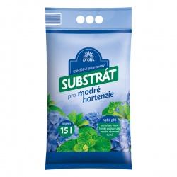 Substrát pre modré hortenzie - PROFIK, 15 L