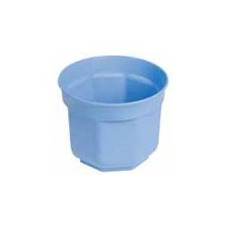 SOPOT - Plastový kvetináč, bledo modrý, 20 cm
