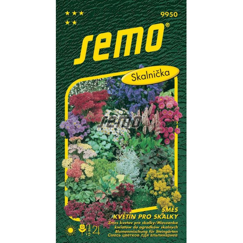 Zmes kvetín pre skalky, S5, 9950, 1 g