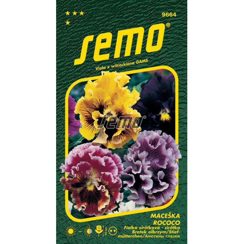 Sirôtka veľkokvetá, ROCOCO ZMES, S4, 9664, 0,25 g