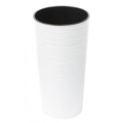 Obal LILIA, vrub, biela, 19 cm