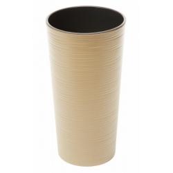 Obal LILIA, vrub, cappuccino, 25 cm