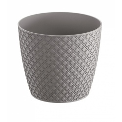 Keramický obal ORIENT, sivá, 22 cm