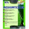Sieť tieniaca MEDIUMTEX, zelená, 1,5 x 1 m