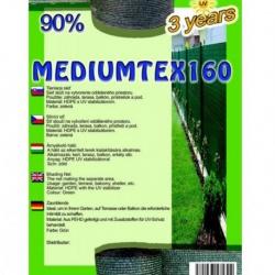 Sieť tieniaca MEDIUMTEX, zelená, 1,8 x 1 m