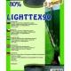 Sieť tieniaca LIGHTTEX, zelená, 1,8 x 1 m