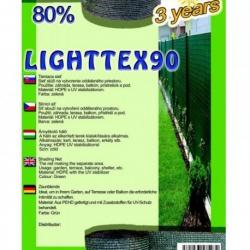 Sieť tieniaca LIGHTTEX, zelená, 1,5 x 1 m