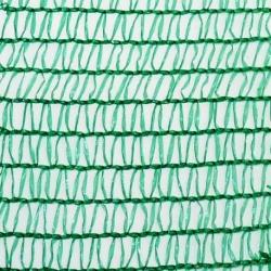 Sieť tieniaca, rašlová, zelená, 7,5 x 1 m