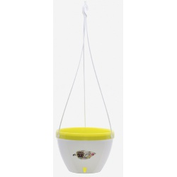 Samozavlažovací závesný kvetináč VISTA, 21,5 cm