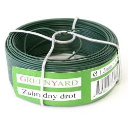 Drôt Garden Wire Pvc 0,80 mm, L-75 m, SC, cievka