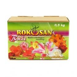 Hnojivo Rokosan, ruže a kvitnúce rastliny, 0,5 kg